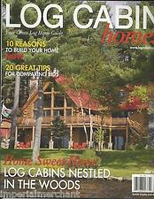 Log Cabin Homes magazine Woods Comparing bid tips Eco friendly furniture Buying