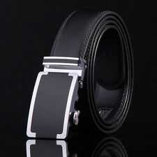Luxury Faux Leather Automatic Buckle   Casual Men's Waistband Waist Strap Belts