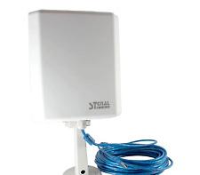 ADAPTADOR WIFI USB PROFESIONAL SIGNAL KING SK-8TN ANTENA 20dBi APTO EXTERIORES