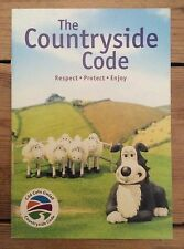 Aardman Animation Creature Comforts promotional booklet new in Welsh & English