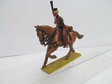 eso-11574 Zinnsoldat Reiter mit Pferd H:ca.9 cm. handbemalt guter Zustand,