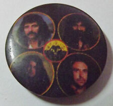 "BLACK SABBATH Old Vtg 1980`s  Button Pin Badge(25mm-1"") Born Again"