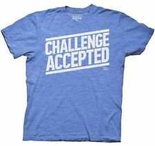 Officially Licensed How I Met Your Mother Challenge Accepted T Shirt Small