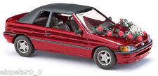 Busch 45732 Ford Escort Cabrio Hochzeit, H0 Fahrzeug Modell 1:87