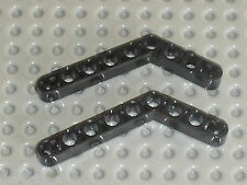 LEGO TECHNIC black beam liftarm bent ref 6629 / sets 8448 8266 8258 8273 9731 ..