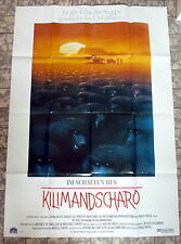 In the Shadow of Kilimanjaro * Rhys - A0-Filmposter XXL- German 2-Sheet 1986 RAR