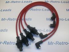 RED 8MM IGNITION LEADS WILL FIT PEUGEOT CITROEN 205 306 309 405 406 CTI QUALITY