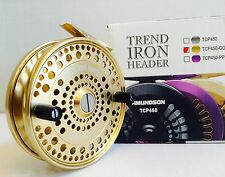 AMUNDSON GOLD TREND IRON CENTERPIN FLOAT REEL **NEW**