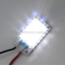 12V 6pcs Led Light Panel Board White Piranha Night Lamp