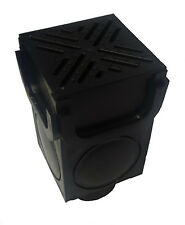 NEW!!  HEAVY DUTY 4 WAY INTERCONNECTING CORNER POST SUMP FOR DRAINAGE CHANNEL,