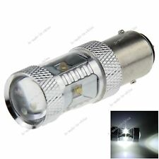 1X White 1157 BAY15D 6 Cree XBD R3 30W LED Turn Signal Rear Light Bulb Lamp E048
