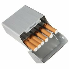 Aluminium Cigarette Box........ silver coloured metal cigaret colour box cigeret