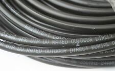 100'FT CAT5'e Copper 24-AWG OUTDOOR UNDERGROUND BURIAL CABLE WATERPROOF UV NO-C