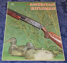 Vintage Magazine American Rifleman, APRIL 1968 !!!MOSSBERG Model 500E SHOTGUN!!!