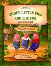 The Three Little Pigs and the Fox Aladdin Picture Books - Hooks, William H. - Pa