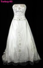 ORG $799 8202 Allure Bridals Ivory 14 Formal Wedding Dress Bridal Gown Dress