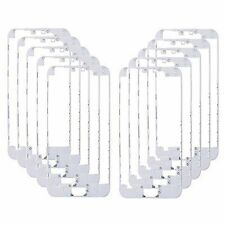 10 x Lot Front Middle Frame Bezel LCD Holder for iPhone 5c White with Hot Glue