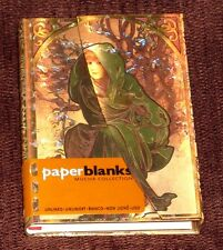 Paperblanks Mucha Winter child (Mini Wrap) Plain Notebook NEW (SALE) FREE POST