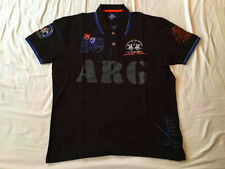 New Men's LA MARTINA ARGENTINA Polo Т-Shirt, Short Sleeve 100% cotton,3XL
