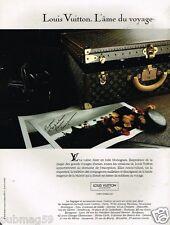 Publicité advertising 1991 Haute Maroquinerie cuir bagages Louis Vuitton