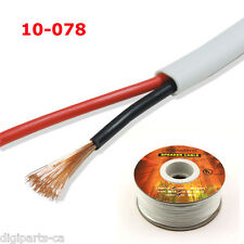 100FT UL SPEAKER CABLE 14AWG WIRE CL2 CL3 IN WALL GAUGE 2 CONDUCTOR AUDIO 14GA
