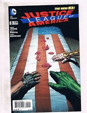 Lot of 3 New 52 Justice League of America DC Comic Books #5 6 7 LH2