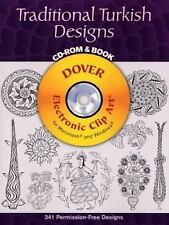 Traditional Turkish Designs CD-ROM and Book (Dover Electronic Clip Art) by Azad