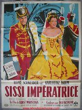 SISSI IMPERATRICE Affiche Cinéma Movie Poster Romy Schneider 160x120