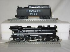 Lionel 18644 Santa Fe Die-Cast 4-4-2 Steam Engine w/ Whistle Tender (O/027)