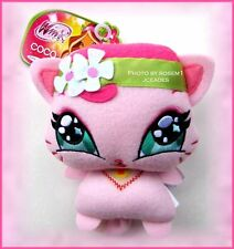 "2012 Winx Club Belevix Love & Pets Plush FLORA's  COCO KITTY 6"" Easter Gift New"