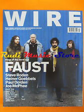 rivista WIRE 229/2003 Faust Steve Roden Joe McPhee Paul Dolden David Toop  No*cd