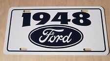 1948 Ford License plate tag 48 Custom Super DeLuxe F-1 Pickup Truck Woody wagon