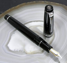SAILOR PRO.GEAR 11-2037 RHODIUM - PLUME OR 21 CARATS - 21K NIB GOLD FOUNTAIN PEN