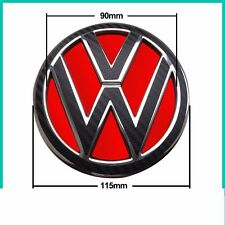 VW Carbon Fiber Style Stickers for Rear Badge MK4 MK5 MK6 GOLF GTI