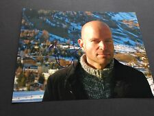 MARC FORSTER JAMES BOND Quantum Trost In-person signed Photo 15 x 20