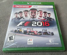 Microsoft XBOX One: F1 2016 LIMITED EDITION Factory Sealed Brand New RARE