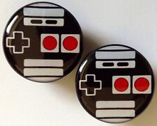 1 Pair of 25 mm (1 inch) Video Game Controller / Nintendo Acrylic Plugs