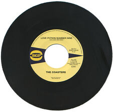 "THE COASTERS  ""LOVE POTION NUMBER NINE""   CLASSIC     LISTEN!"
