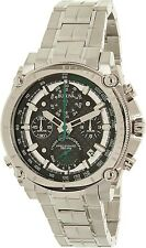Bulova Men's Precisionist 96B241 Silver Stainless-Steel Quartz Watch