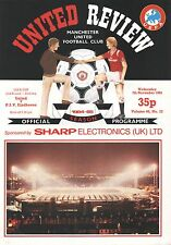 1984/85 Manchester United v PSV Eindhoven, UEFA Cup, PERFECT CONDITION