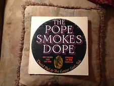 David Peel The Pope Smokes Dope VG+ 1972 Rare Apple Orig John Lennon: Producer