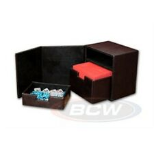 1 BCW Deck Commander LT Brown MTG Magic the Gathering Deck Protector Box