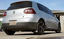 ROKBLOKZ RALLY MUD FLAPS for the VW GOLF GTI MKV MK5 2004-2005 SHORT version