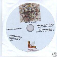 (542N) Dieter Schoon, Mary Jane - 2009 CD