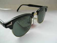 Classic Retro New 80's Vintage Kids Childrens Black Clubmaster Style Sunglasses