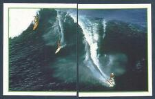 MERLIN SKY SPORTS-1996- #223/224-SURFING-2 SURFERS & A JET SKIER RIDING THE WAVE