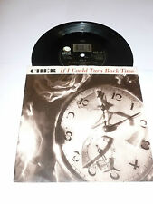 "CHER - If I Could Turn Back Time - 1989 UK 2- track 7"" vinyl Single"