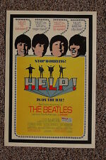 Beatles Lobby Card Movie Poster Help #2