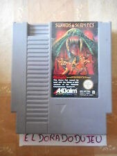 ELDORADODUJEU   SWORDS AND SERPENTS Pour NINTENDO NES PAL B WP-FRA