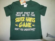 SOUTH BEND SILVER HAWKS TODDLER T-SHIRT - 2T